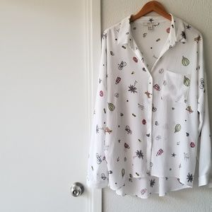 forever 21 • long sleeve button down
